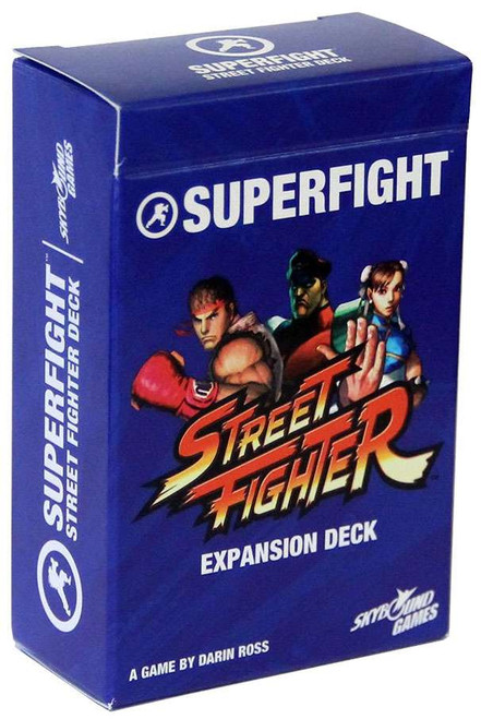Superfight! Street Fighter Card Game Expansion Deck