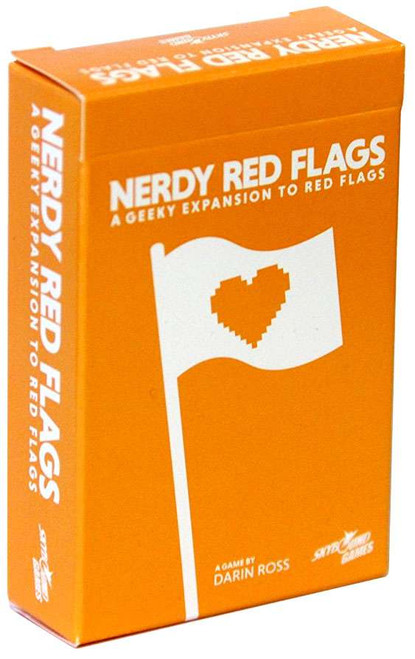 Red Flags Nerdy Card Game Expansion Deck