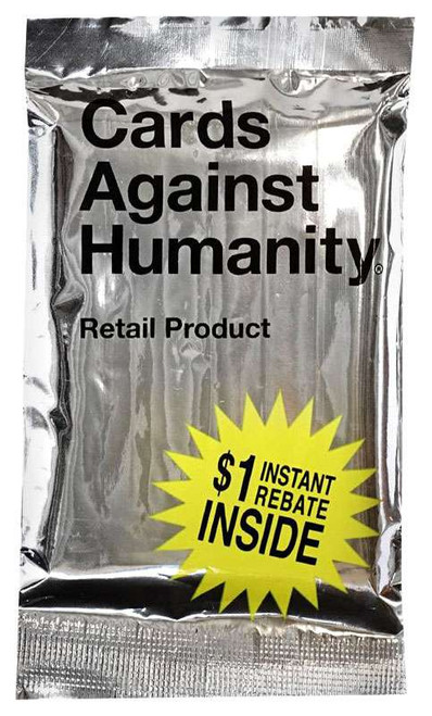 Cards Against Humanity Retail Silver Pack Exclusive Card Game Expansion
