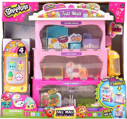 Shopkins Tall Mall Exclusive Playset