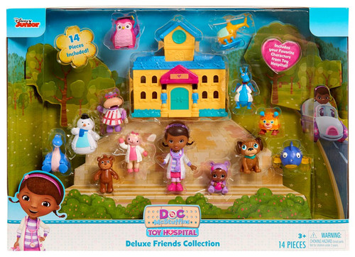 Disney Doc McStuffins Toy Hospital Deluxe Friends Collection Playset