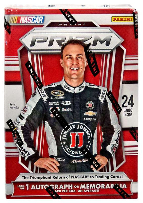 NASCAR Panini 2016 Prizm Trading Card BLASTER Box [24 Cards, 1 Autograph OR Memorabilia Card!]