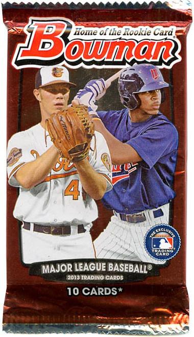 MLB Topps 2013 Bowman Baseball Trading Card Pack [10 Cards]