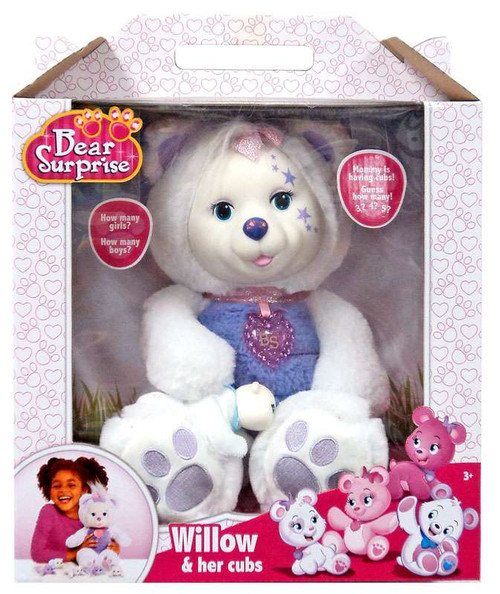 Bear Surprise Willow & Her Puppies Plush Toy