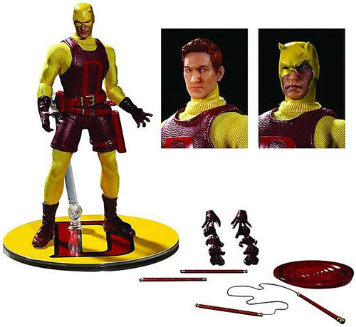 Marvel One:12 Collective Daredevil Exclusive Action Figure [Yellow Costume]