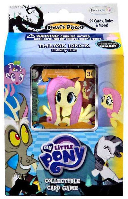 My Little Pony Friendship is Magic Absolute Discord Fluttershy Theme Deck