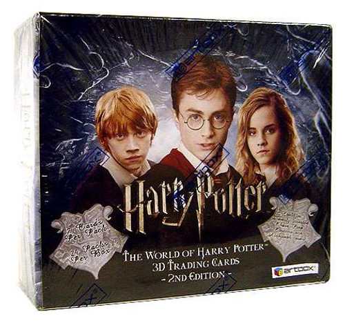The World of Harry Potter 3D Trading Cards Trading Card Box [2nd Edition]