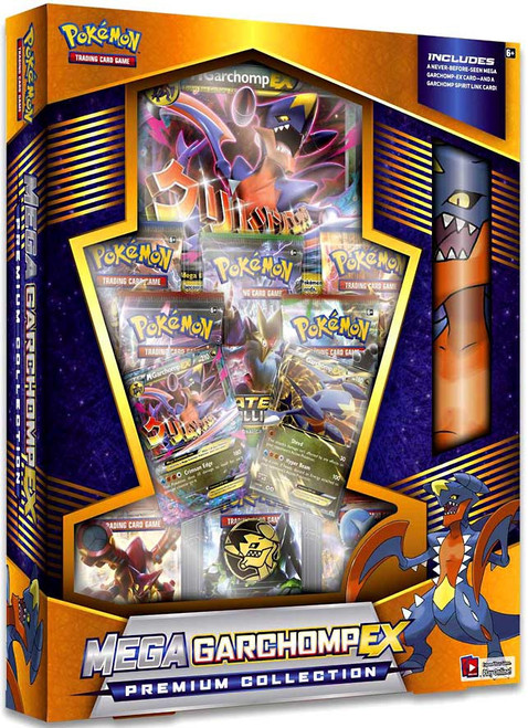Pokemon Trading Card Game Mega Garchomp-EX Premium Collection