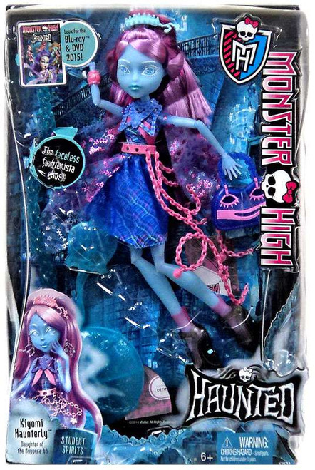 Monster High Haunted Student Spirits Kiyomi Haunterly Doll [Damaged Package]