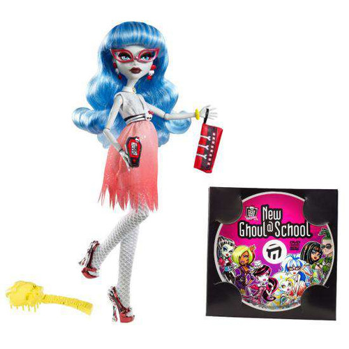 Monster High Dawn of the Dance Ghoulia Yelps Doll [Damaged Package]