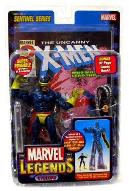 Marvel Legends Series 10 Sentinel Cyclops Action Figure [Damaged Package]