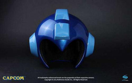 Capcom Mega Man Blue Replica Helmet