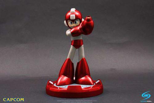 Capcom Mega Man Exclusive 10-Inch Statue [Red Ver,]