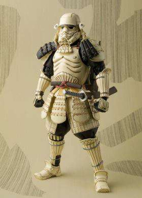 Star Wars Meisho Movie Realization Teppo Ashigaru Sandtrooper Exclusive Action Figure [Black Pauldron]