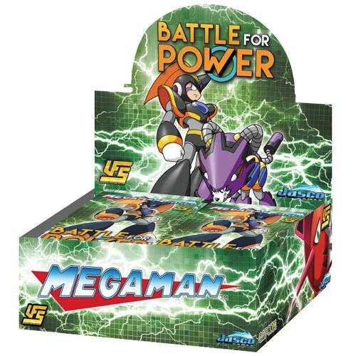 UFS Mega Man Battle for Power Booster Box [24 Packs]
