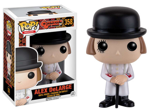Funko A Clockwork Orange POP! Movies Alex DeLarge Vinyl Figure #358