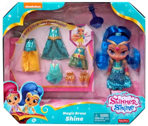Fisher Price Shimmer & Shine Magic Dress Shine 6-Inch Doll