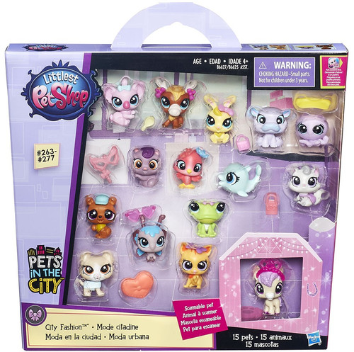 Littlest Pet Shop Pets in the City City Fashion Figure Set
