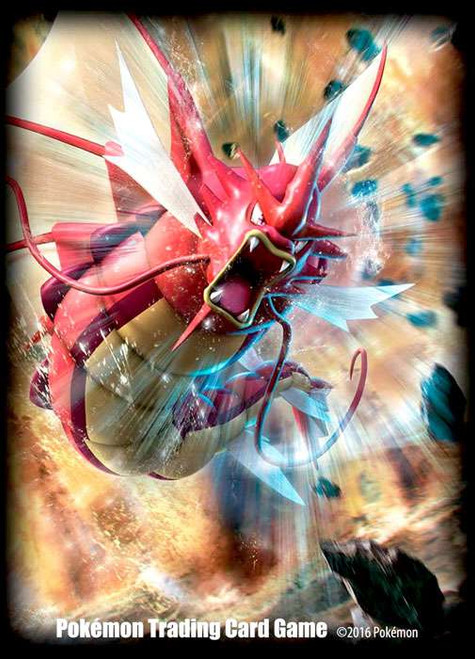 Pokemon Card Supplies Shiny Mega Gyarados Card Sleeves