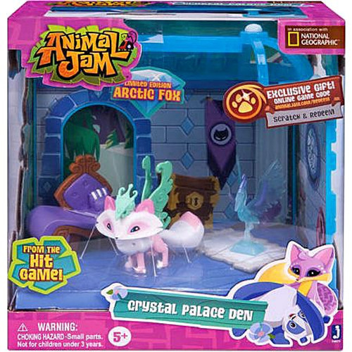 Animal Jam Crystal Palace Den Exclusive Playset [Limited Edition Arcitic Fox]