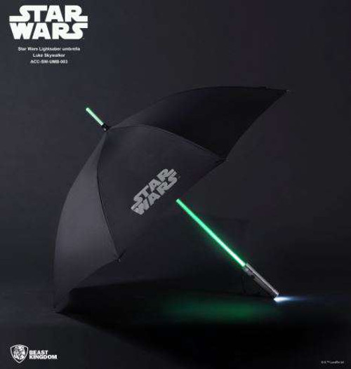 Star Wars Luke Skywalker Lightsaber Umbrella [2nd Generation]