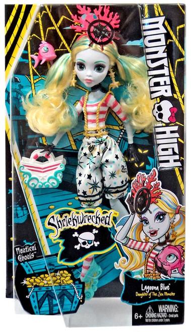 Monster High Shriekwrecked Lagoona Blue Doll