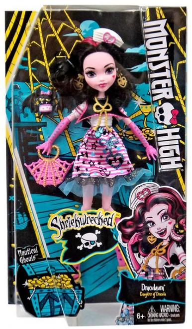 Monster High Shriekwrecked Draculaura Doll