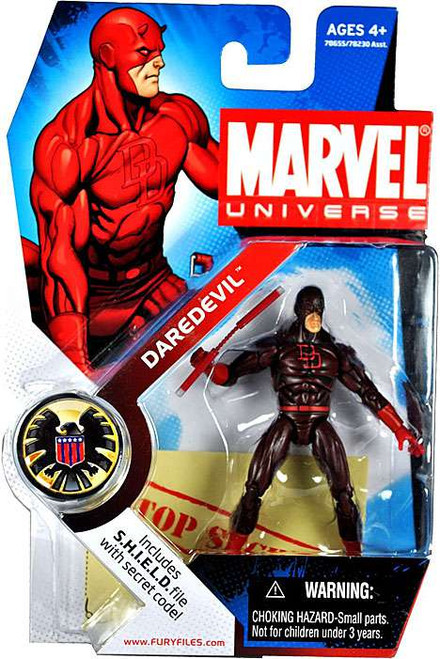 Marvel Universe Series 1 Daredevil Action Figure #8 [Dark Red Costume]