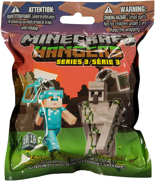 Minecraft Hangers Series 3 Mystery Pack