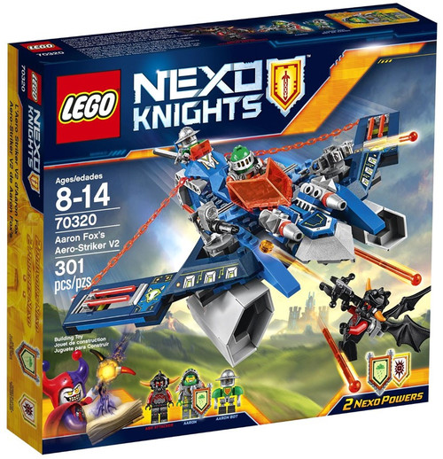 LEGO Nexo Knights Aaron Fox's Aero-Striker V2 Set #70320