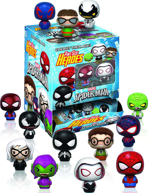 Funko Marvel Pint Size Heroes Spider-Man Mystery Box [24 Packs]