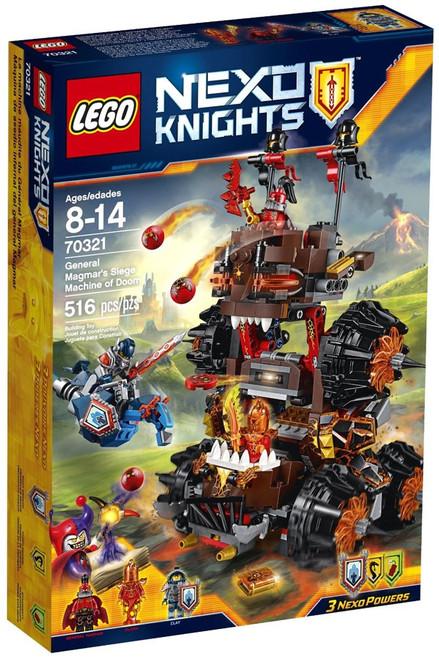 LEGO Nexo Knights General Magmar's Siege Machine of Doom Set #70321