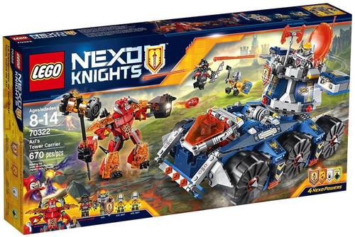 LEGO Nexo Knights Axl's Tower Carrier Set #70322
