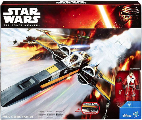 Star Wars The Force Awakens Poe Dameron's X-Wing 3.75-Inch Vehicle [Damaged Package]