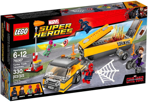 LEGO Marvel Super Heroes Spider-Man Tanker Truck Takedown Exclusive Set #76067