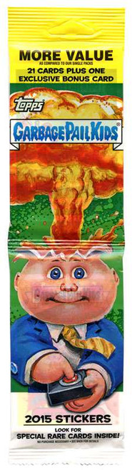 Garbage Pail Kids Topps 2015 Series 1 Trading Card Sticker JUMBO Pack [21 Cards + 1 Exclusive Bonus Card]