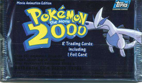 Pokemon Topps The Movie 2000 Trading Card Pack [8 Cards]