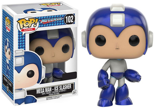 Funko POP! Games Mega Man Exclusive Vinyl Figure #102 [Ice Slasher]