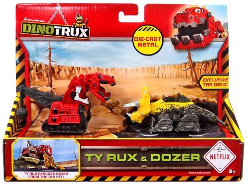 Dinotrux Ty Rux & Dozer Diecast Figure 2-Pack