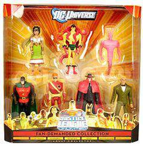 DC Universe Justice League Unlimited Fan Demanded Collection Exclusive Action Figure Set [Damaged Package]