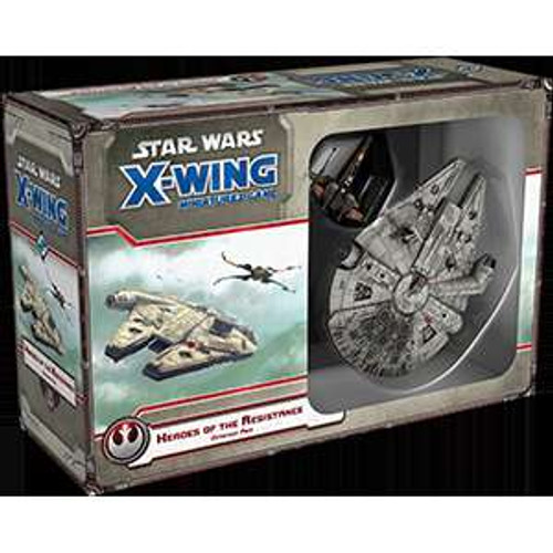 Star Wars X-Wing Miniatures Game Heroes of the Resistance Expansion Pack