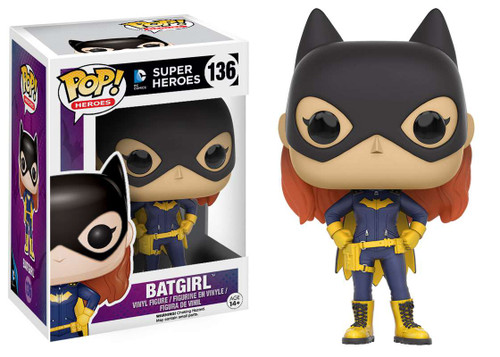 Funko Batman DC Super Heroes POP! Heroes Batgirl Vinyl Figure #136 [2016 Version]