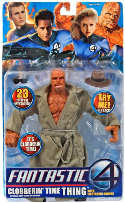 Marvel Fantastic Four Clobberin' Time Thing Action Figure [with Sound]