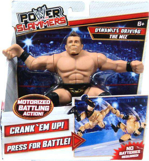 WWE Wrestling Power Slammers The Miz Action Figure