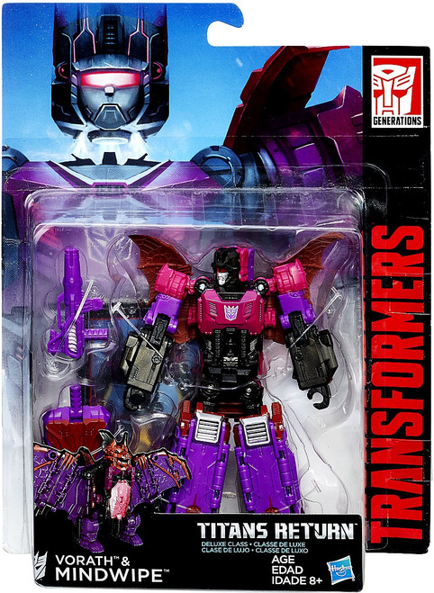 Transformers Generations Titans Return Vorath & Mindwipe Deluxe Action Figure