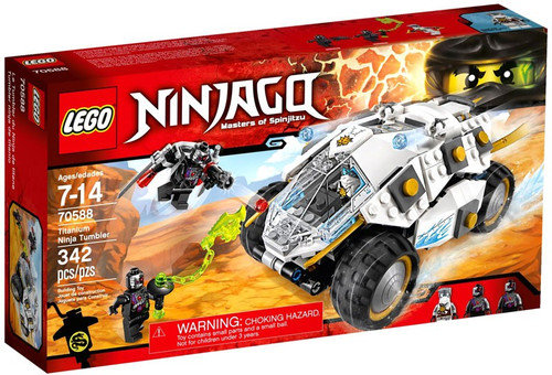LEGO Ninjago Titanium Ninja Tumbler Exclusive Set #70588