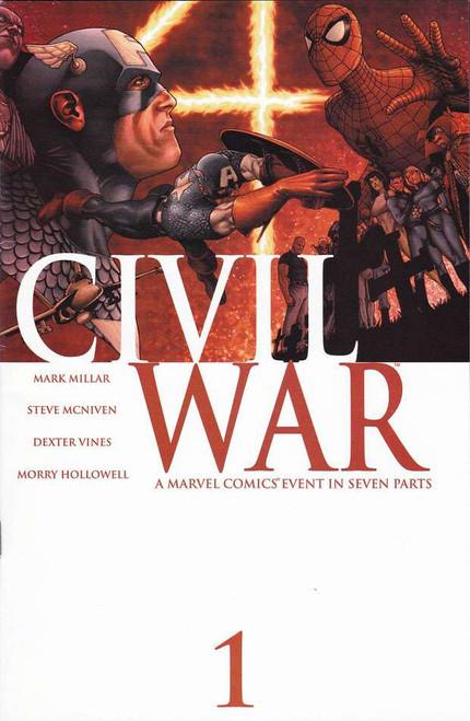 Marvel Civil War #1 Comic Book