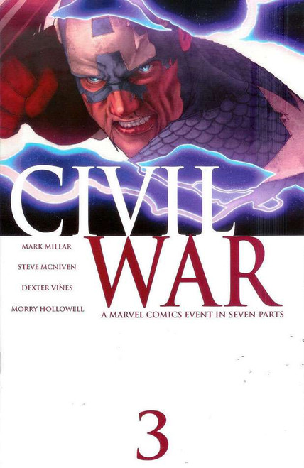 Marvel Civil War #3 Comic Book