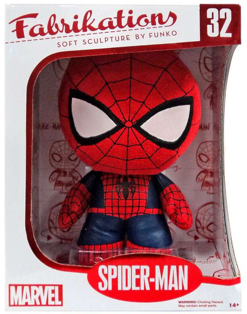 Marvel Funko Fabrikations Spider-Man Exclusive Vinyl Bobble Head