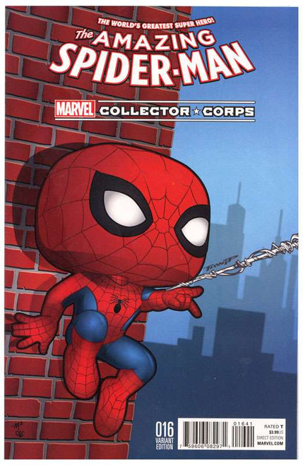 #016 Spider-Man Exclusive Comic Book [Variant Edition]